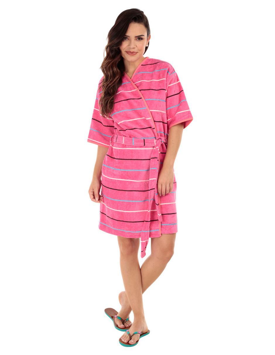 Bata de baño Elite Spirit rosa 8aabee83298